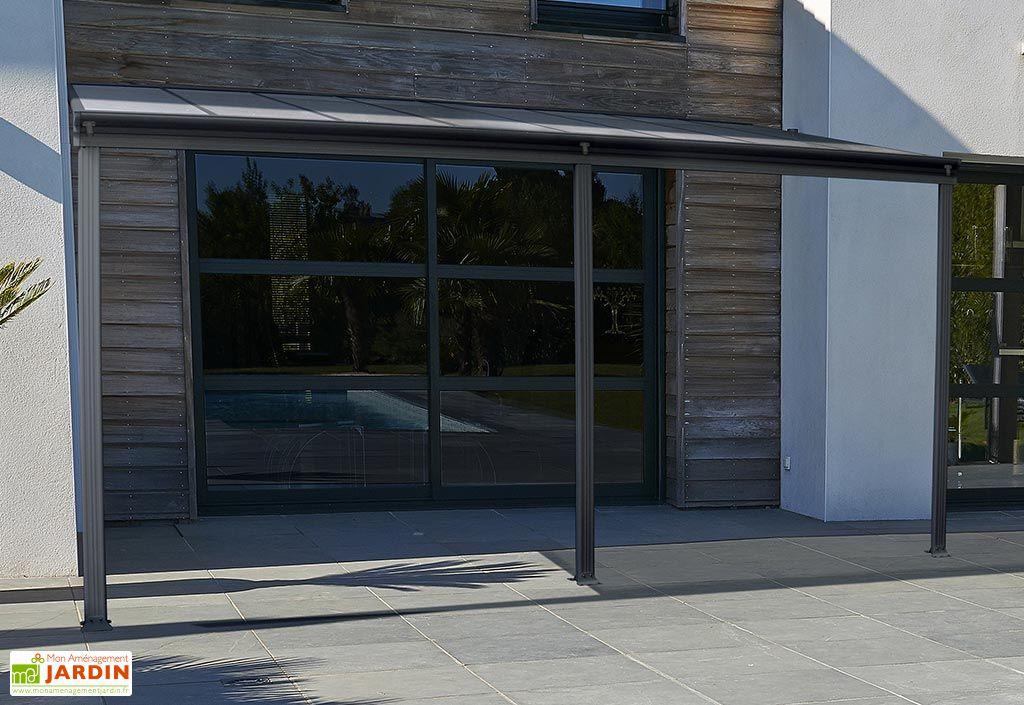 Pergola en aluminium DCB Garden Cielo 13 m² Anthracite