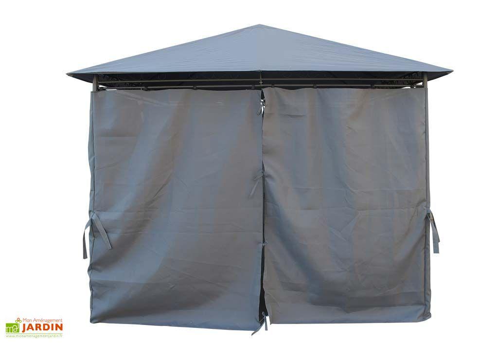 tonnelle carr e 3x3 pergola 3x3m tente de jardin terrasse reception. Black Bedroom Furniture Sets. Home Design Ideas