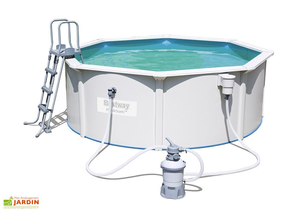 piscine hors sol structure métallique