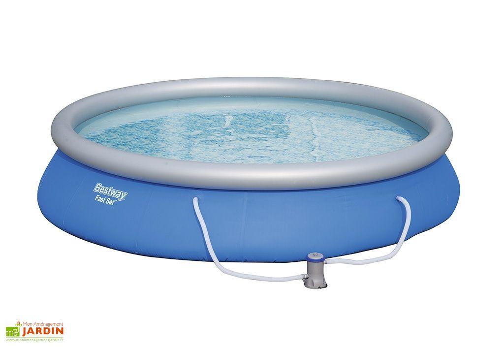 piscine hors sol ronde fast set 9677L