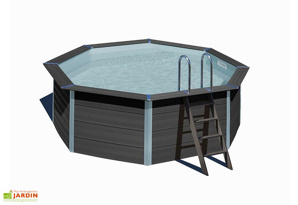 Piscine hors-sol en composite piscine de jardin Just Aposé Tatihou