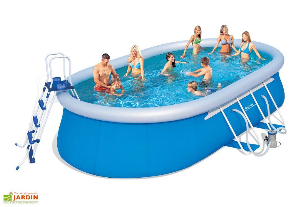 piscine autoportante hors sol ovale steel pro 15m3