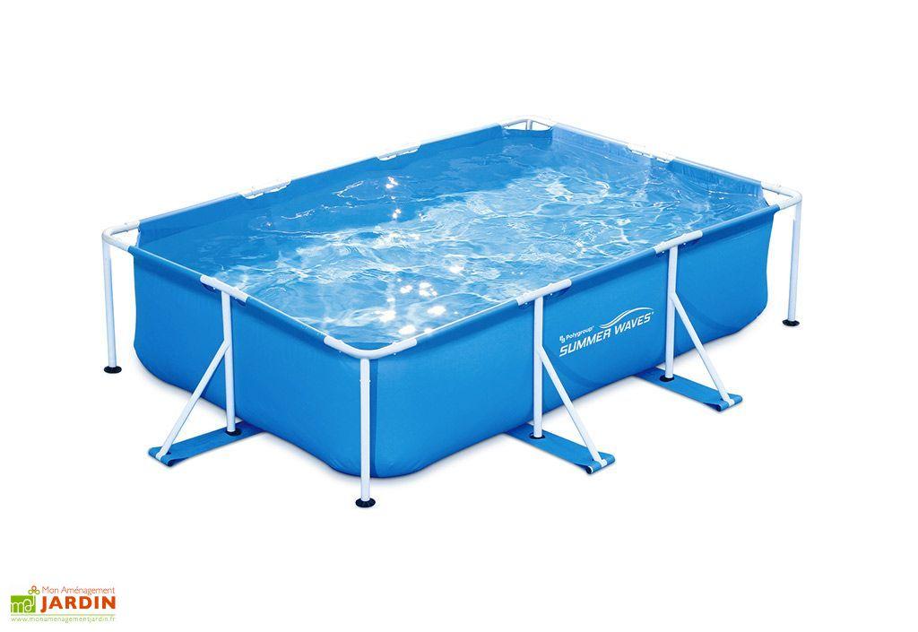 piscine tubulaire rectangulaire 300 x 200 cm