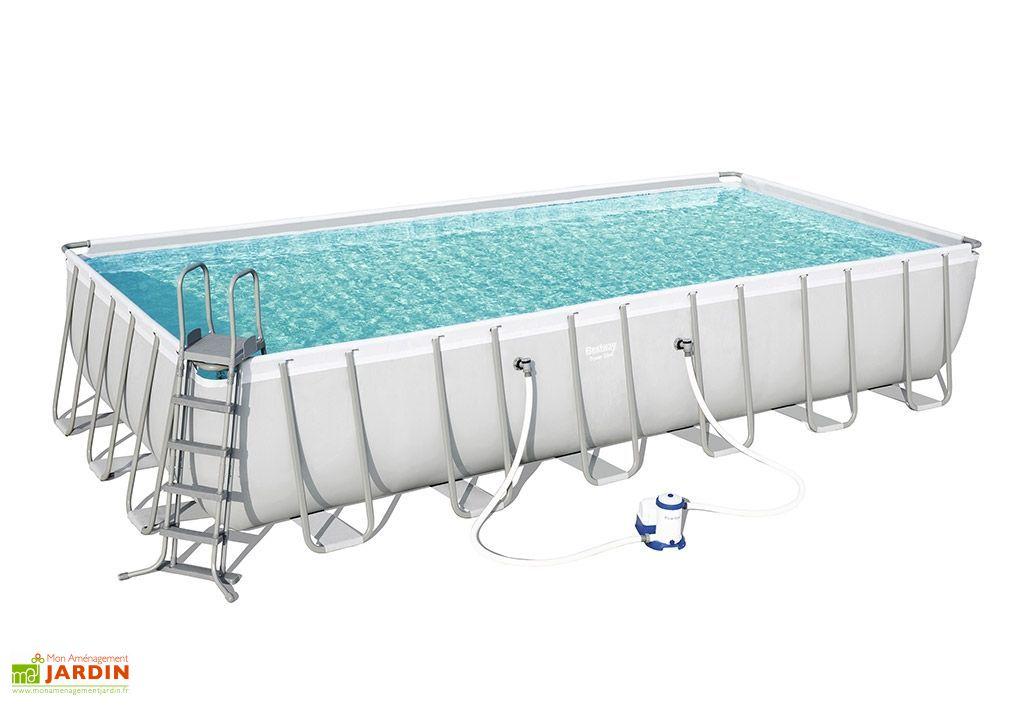 piscine rectangulaire hors sol 30000 litres 732 x 366 x 132 cm
