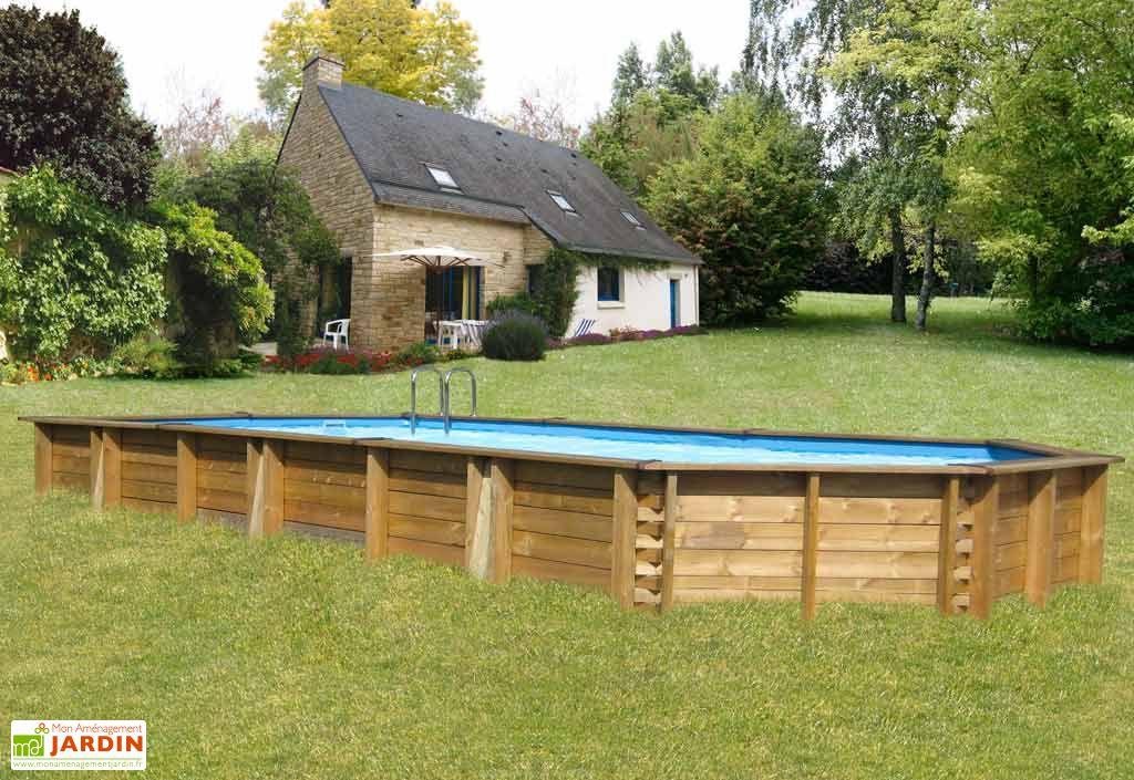 piscine octo rectangulaire sunbay piscine octo. Black Bedroom Furniture Sets. Home Design Ideas