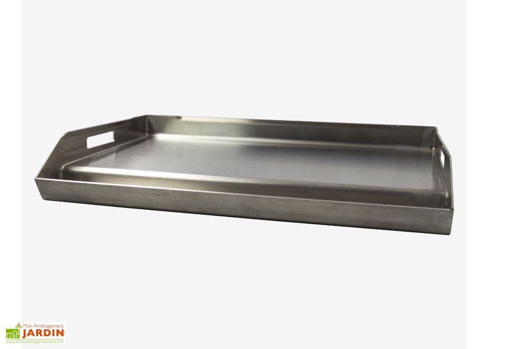 Plancha Inox 60x40 pour Fours Vulcano 3 et 3 Premium