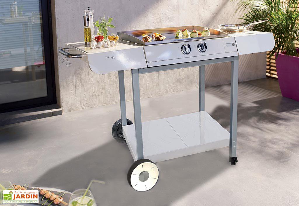 plancha au gaz sur chariot sevignac 63 cook 39 in garden. Black Bedroom Furniture Sets. Home Design Ideas
