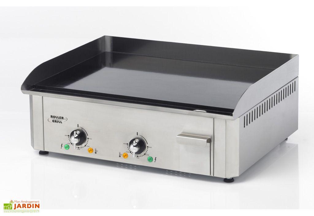 Plancha Pro 600 EEC Electrique 3500W Emaillee