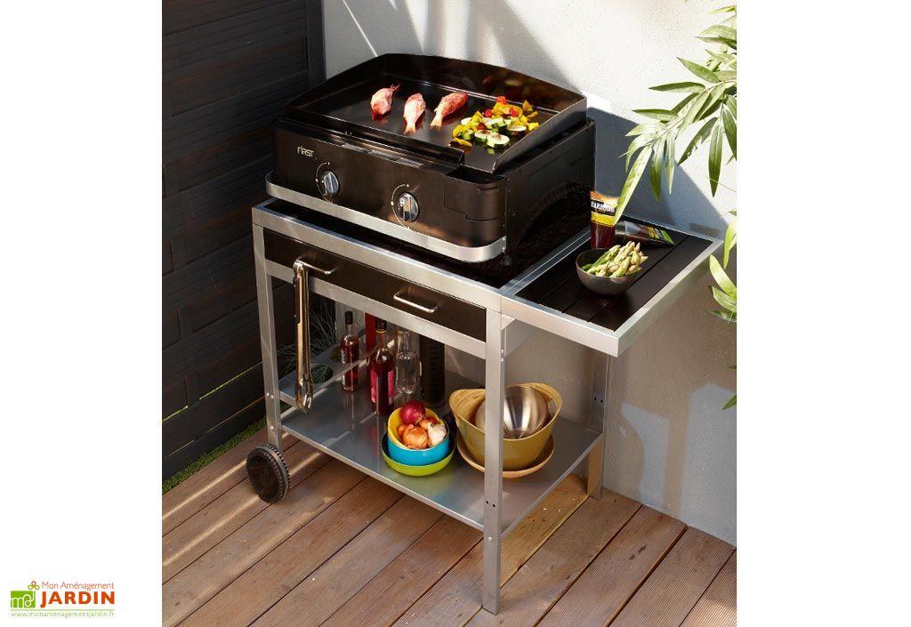 plancha gaz chariot wissant 61 cook 39 in garden. Black Bedroom Furniture Sets. Home Design Ideas