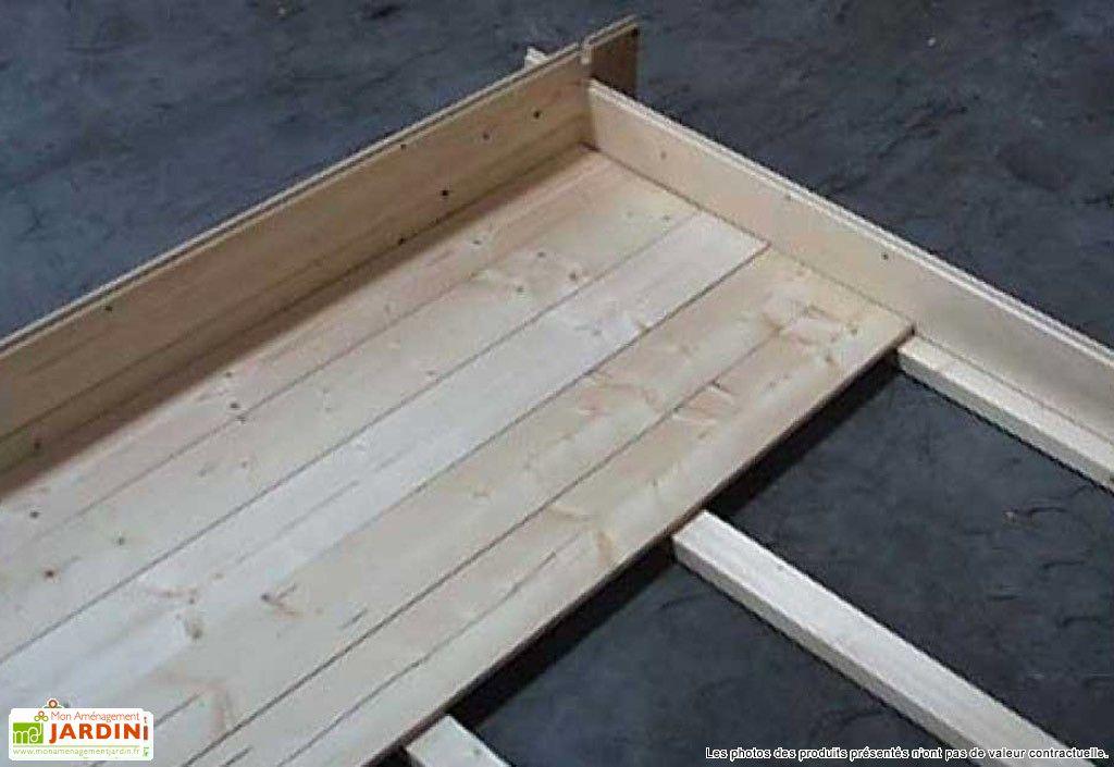 Plancher Abri de Jardin Liverpool 499x399x270