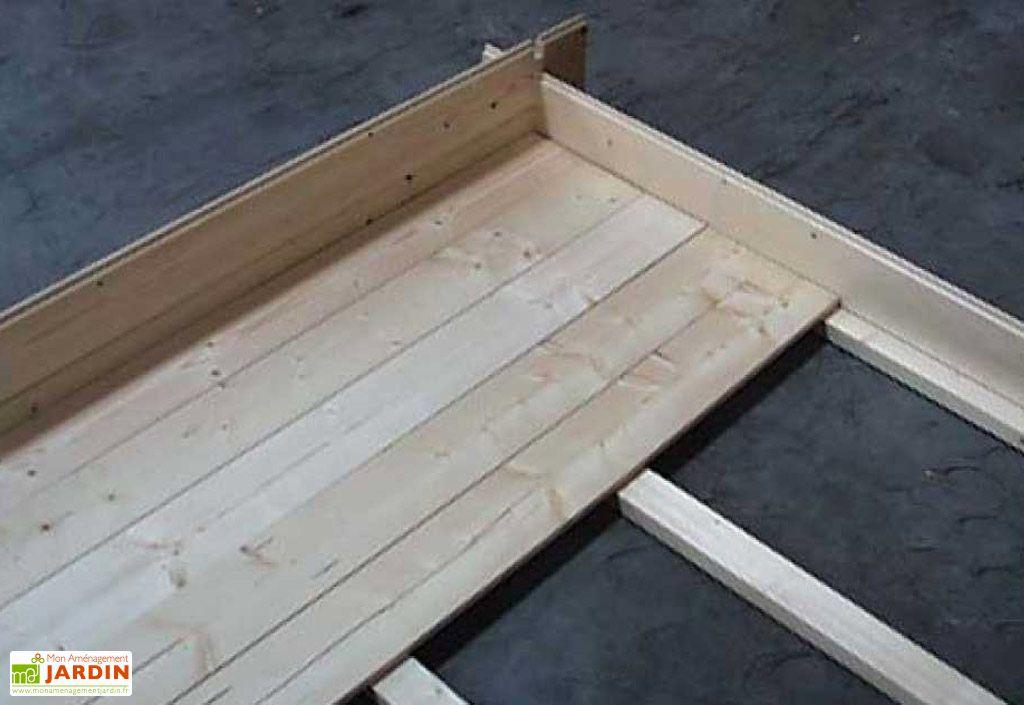 Plancher Abri de Jardin Oxford 499x399x256