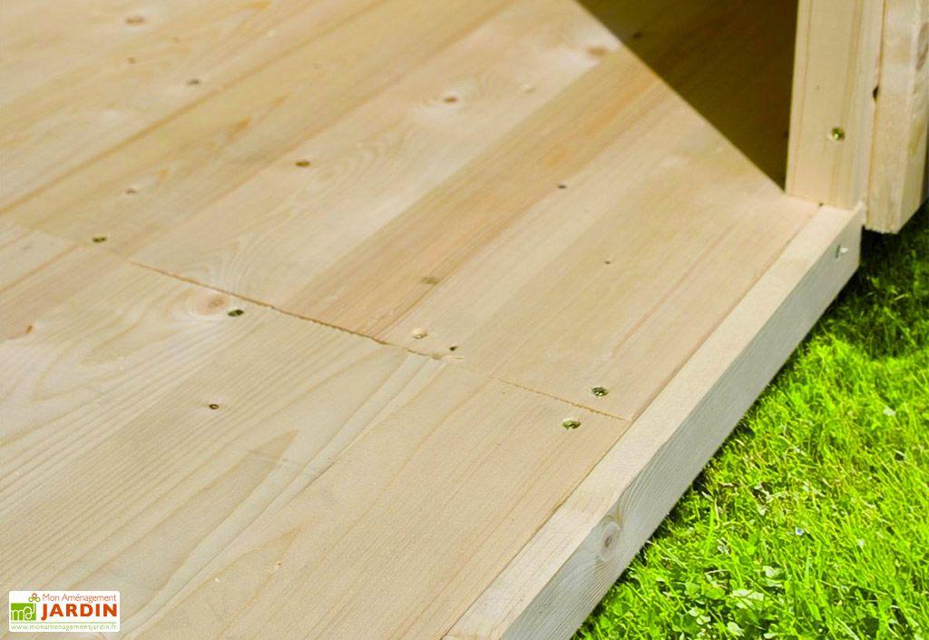 Plancher en Bois pour Abri de Jardin Karibu Merseburg 6
