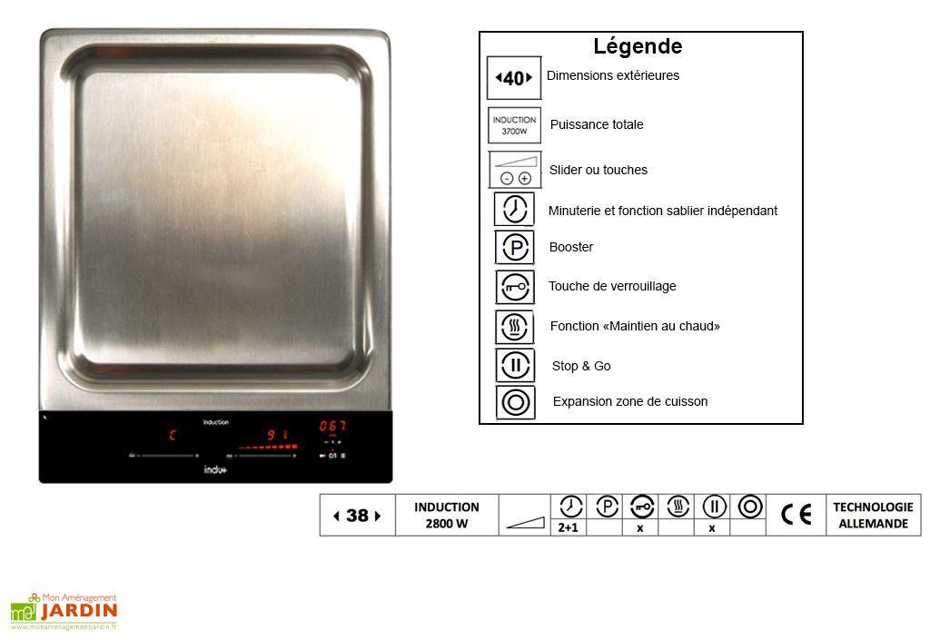 plaque de cuisson induction teppanyaki 38cm 2800 w indu. Black Bedroom Furniture Sets. Home Design Ideas