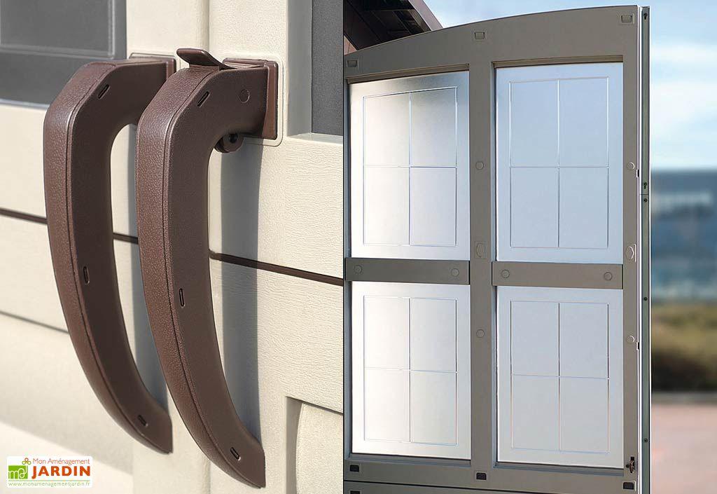 abri de jardin r sine ghibli 247x330 7 m shaf. Black Bedroom Furniture Sets. Home Design Ideas