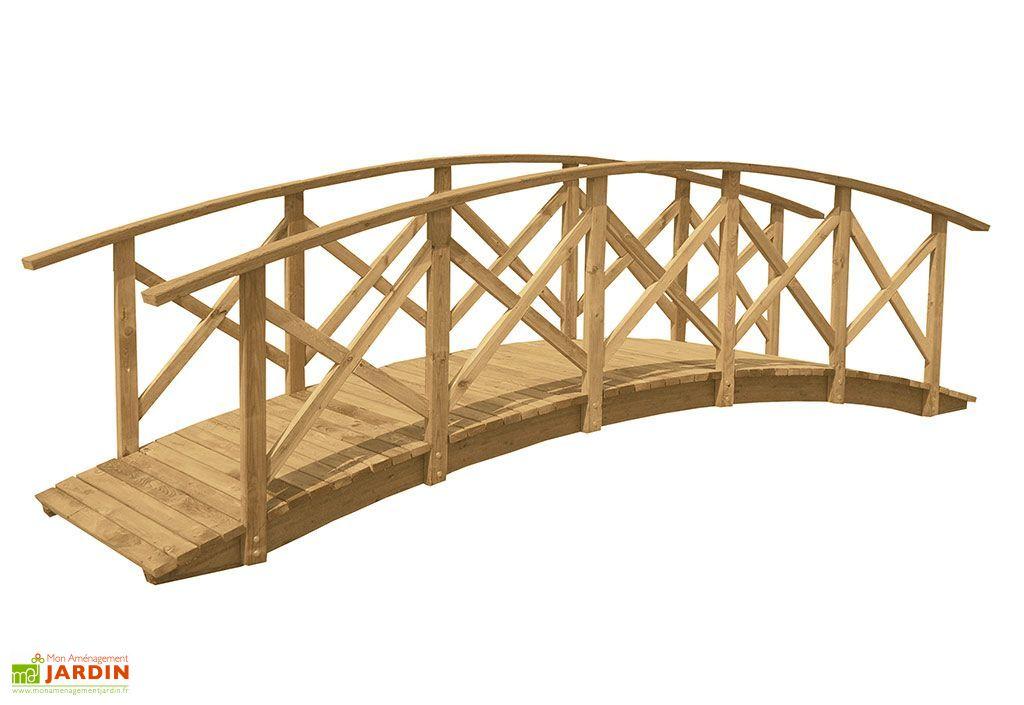 Pont en Bois Manhattan (520x120x145cm)