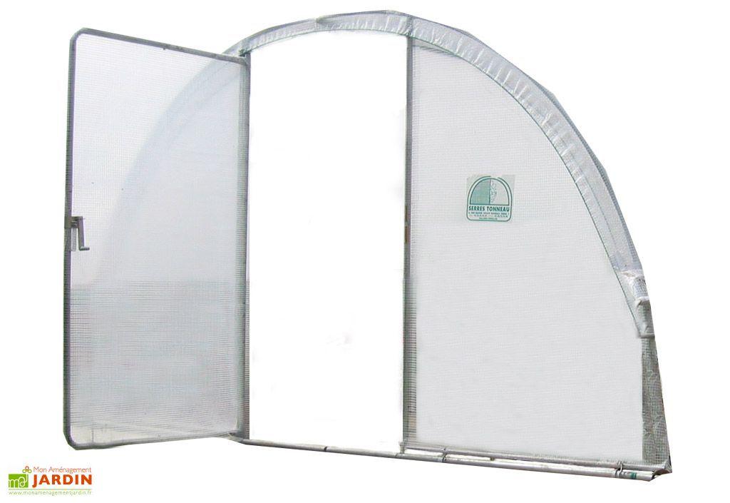 Porte Pivotante pour Serre Mini larg 3,7 m