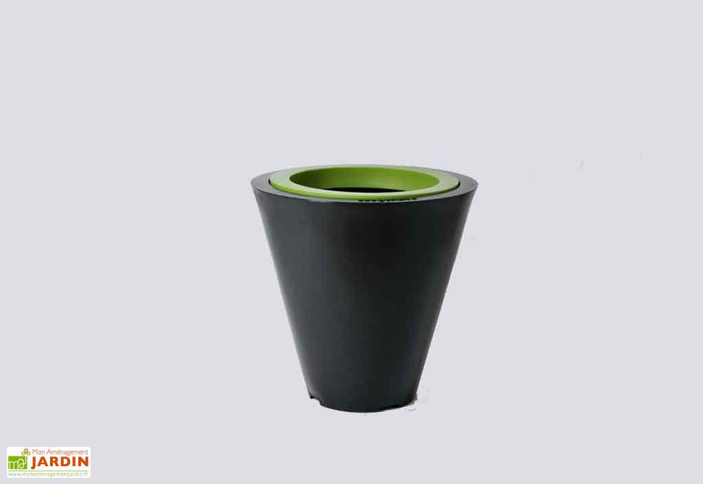 Jardini re pvc open xs avec anneau 50 25x50 green city for Piscine xs prix