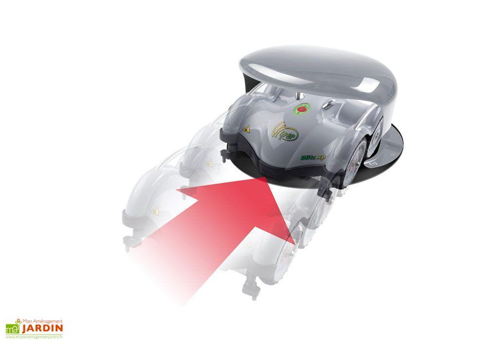 Robot tondeuse gazon sans fil blitz xk robot tondeuse - Robot piscine sans fil ...