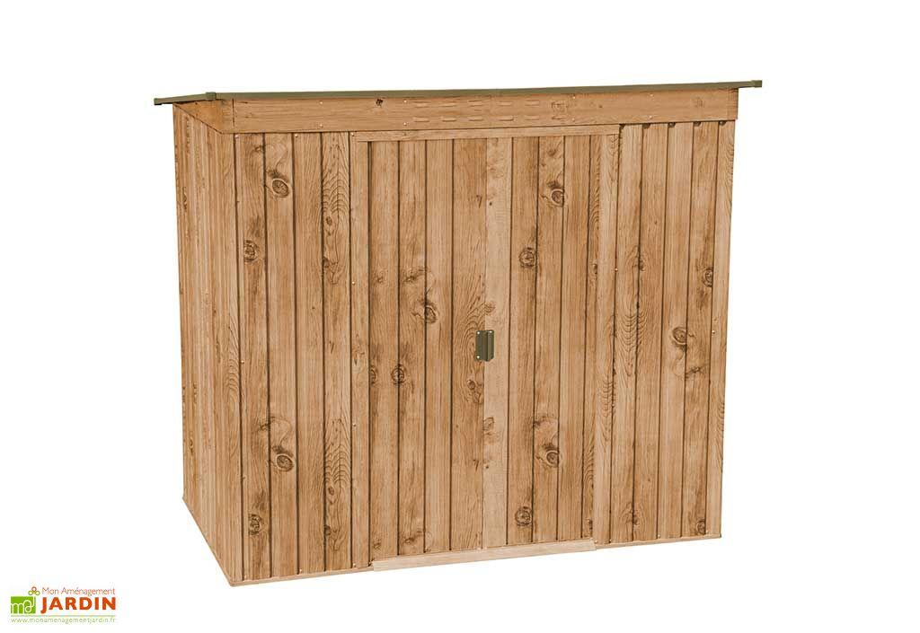 Abri de jardin en métal imitation bois Duramax Woodgrain 2,29 m²