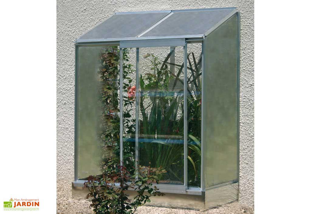 Serre de jardin Adossée Lactuca - Serre de balcon adossée poly t ...