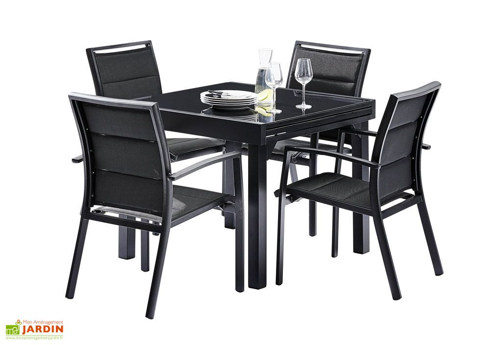 Table De Jardin Carree Extensible