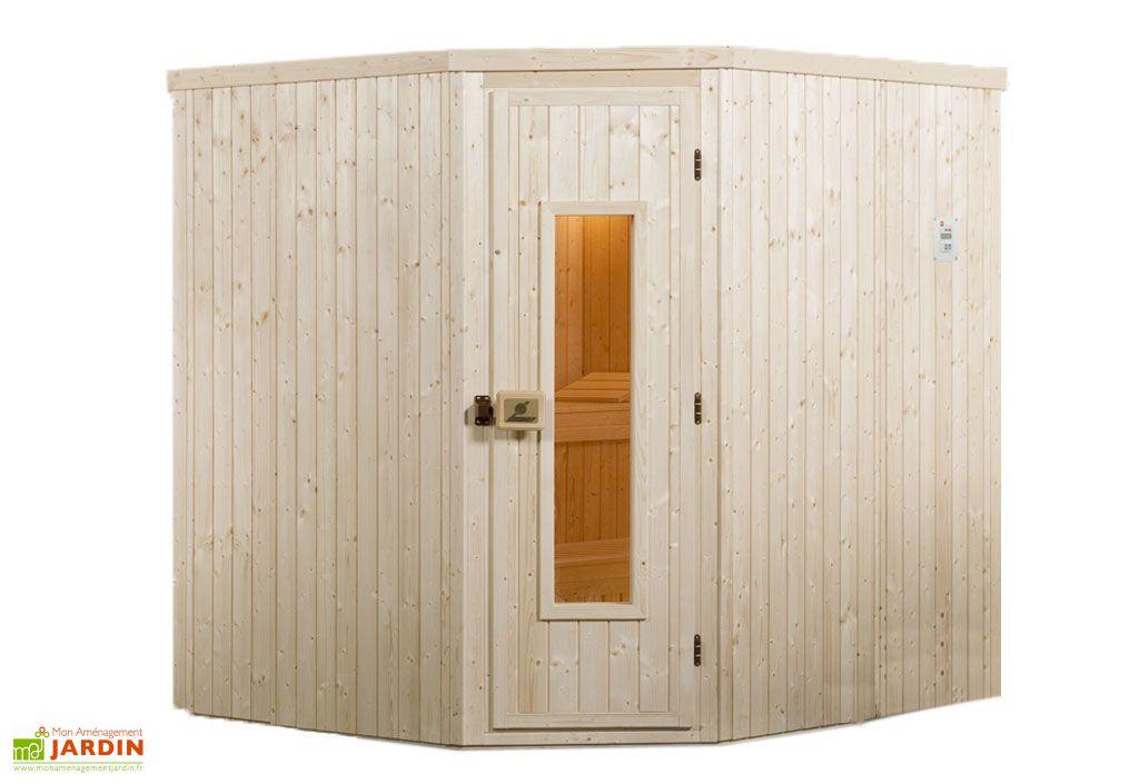 Sauna d 39 ext rieur rovaniemi 2 abri sauna po le rovaniemi 2 poele 7 5 - Sauna exterieur poele bois ...