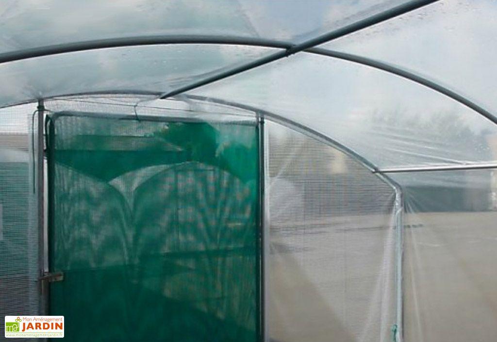 Serre de Jardin 4 Saisons Plus Polyéthylène 200µ (4x6)
