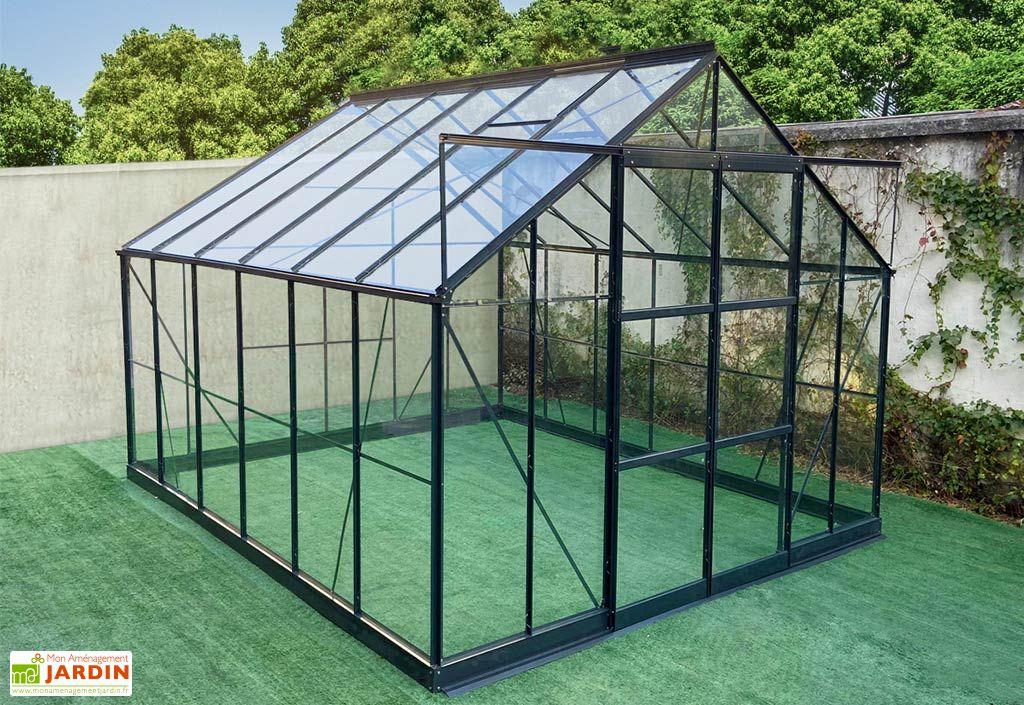 serre de jardin en aluminium et verre trempe prima 10 92 m