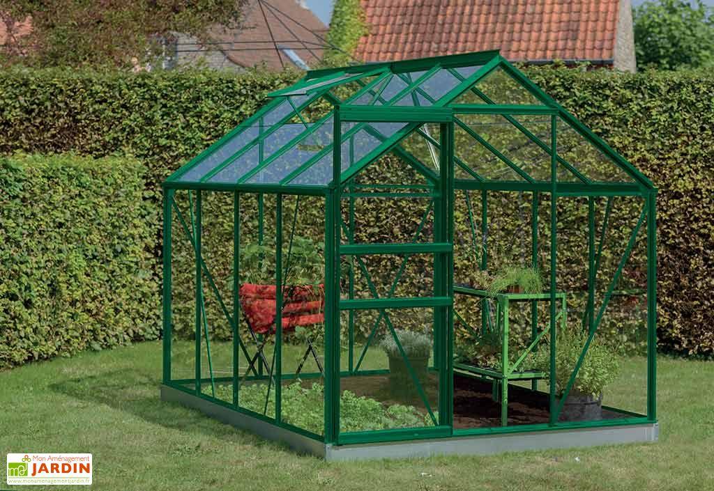 Serre Jardin Aluminium Polycarbonate Ivy 5 m² – Plusieurs Coloris