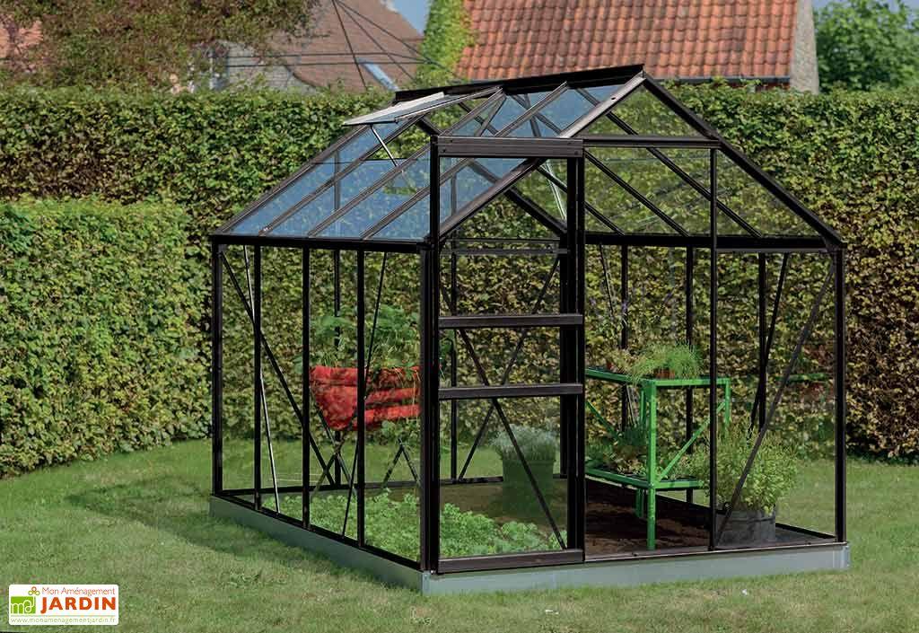 Serre jardin aluminium polycarbonate ivy 5 m plusieurs coloris acd - Serre aluminium polycarbonate ...