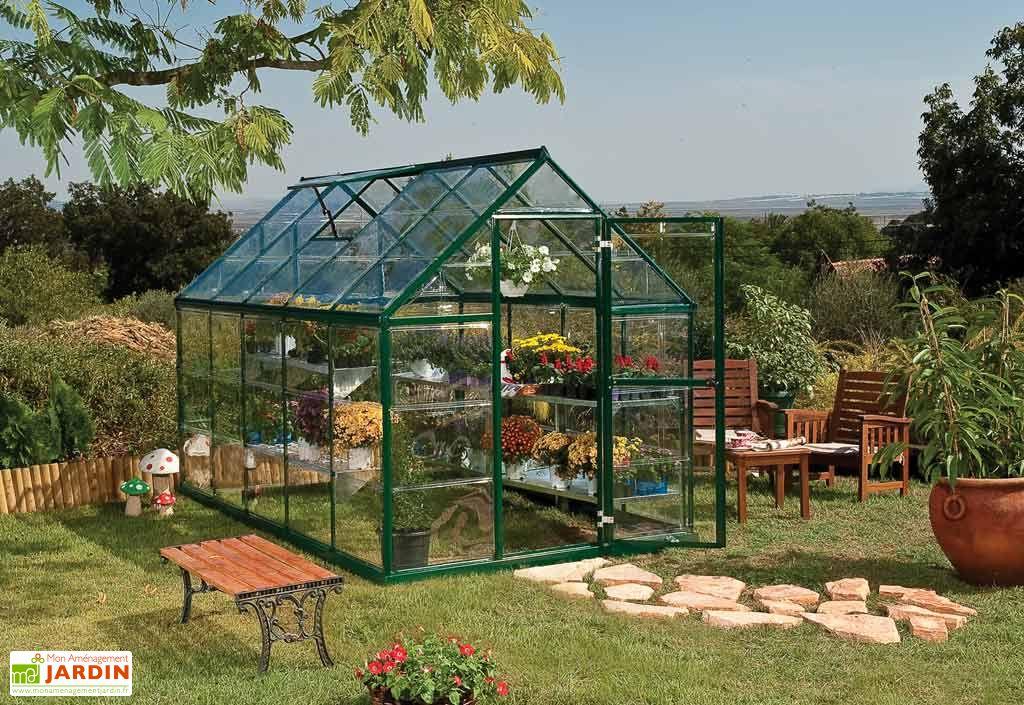 Serre de Jardin Polycarbonate Harmony Green 5,7 m²