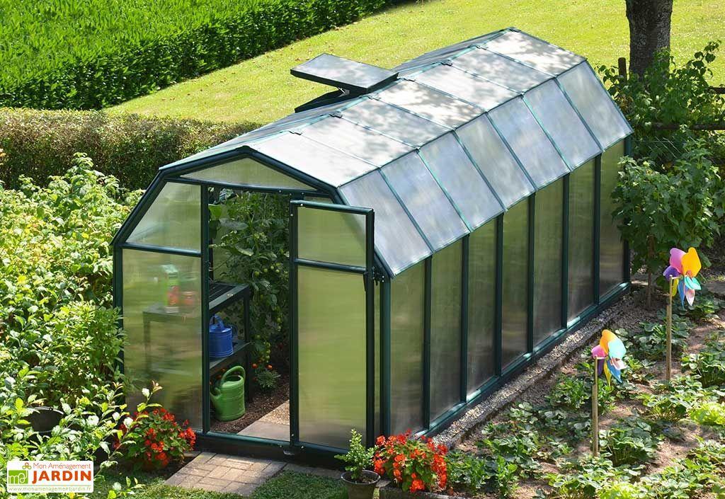 serre jardin serre tunnel serre en polycarbonate mon. Black Bedroom Furniture Sets. Home Design Ideas