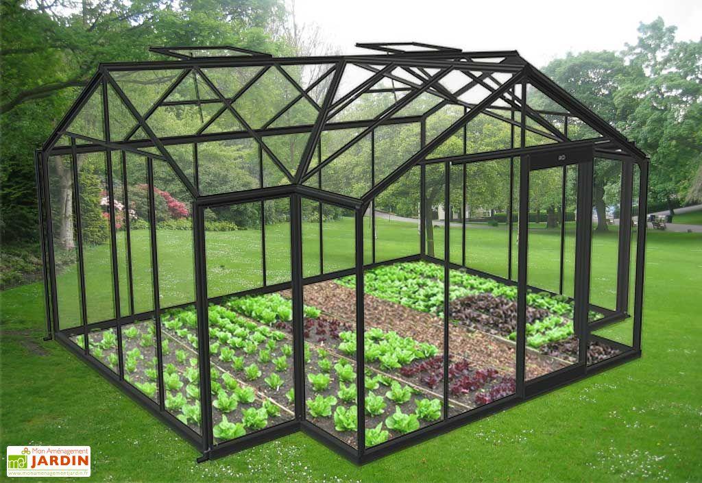serre de jardin orangerie 15 79 m acd. Black Bedroom Furniture Sets. Home Design Ideas