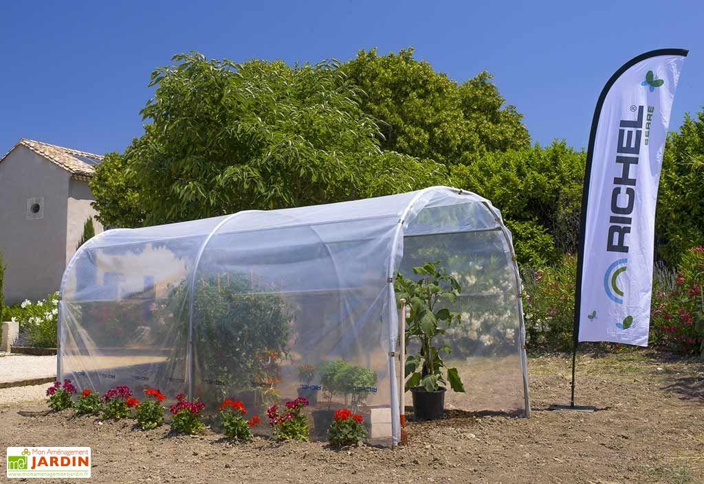 abri de culture serre de jardin Richel 2 x 4 m