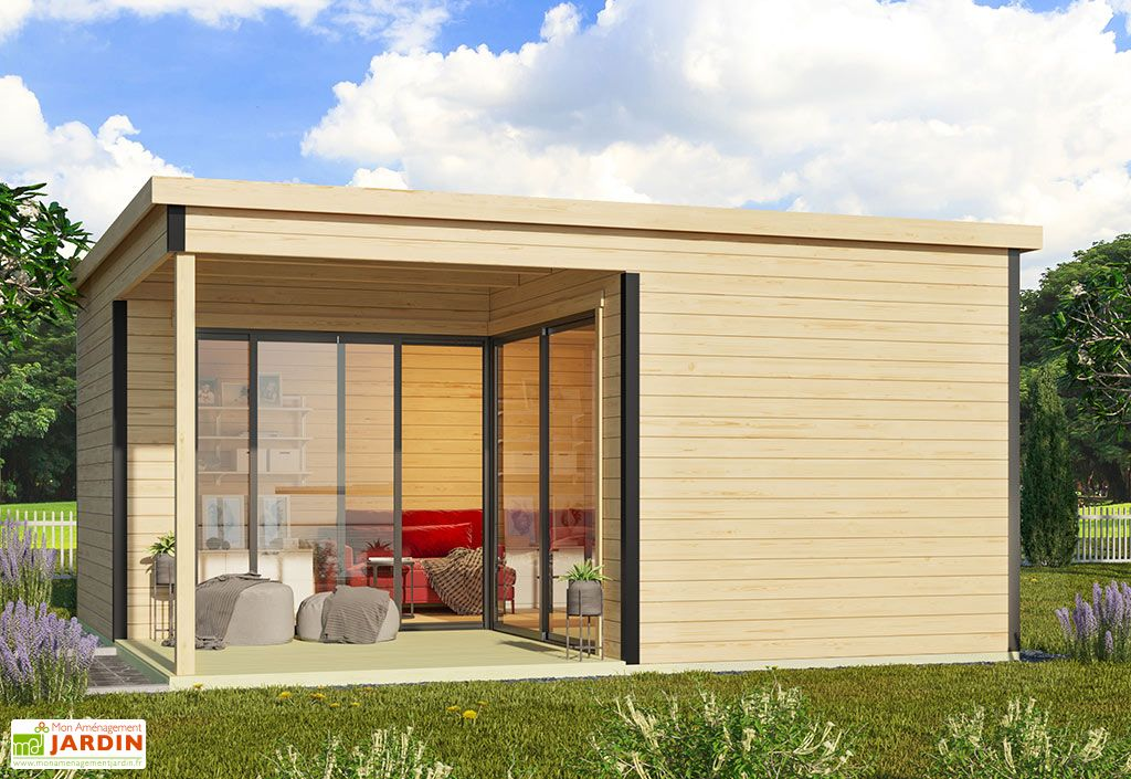 Studio de jardin habitable 25 m²  Doméo 6 Plus avec terrasse Lasita