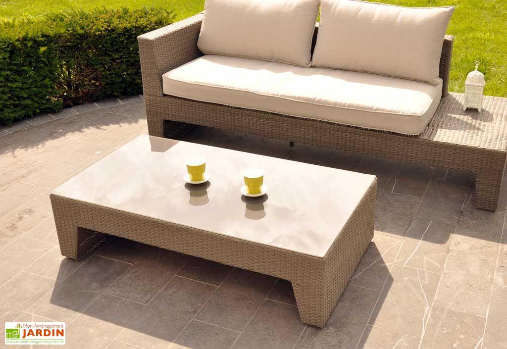 Table Basse Jardin Capuccino