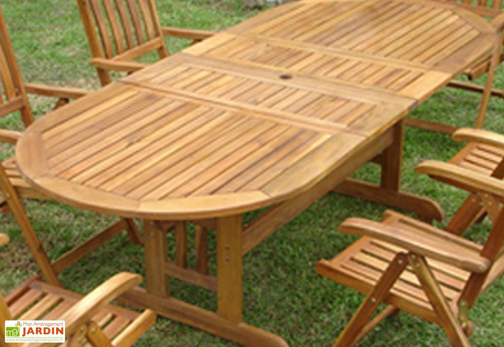 Table Jardin Acacia Acapulco (180/210/240x100)