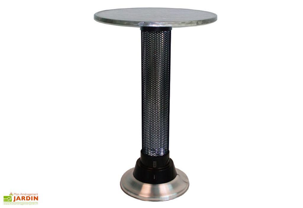 Table Chauffante Inox