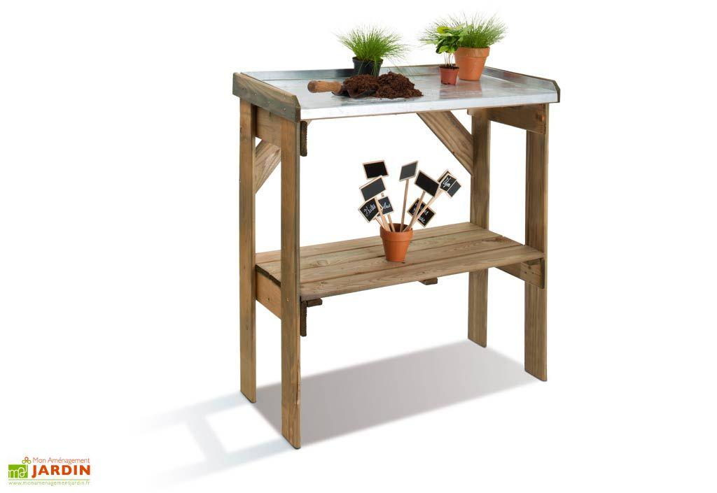 table de jardinage merina table de pr paration jardipolys. Black Bedroom Furniture Sets. Home Design Ideas