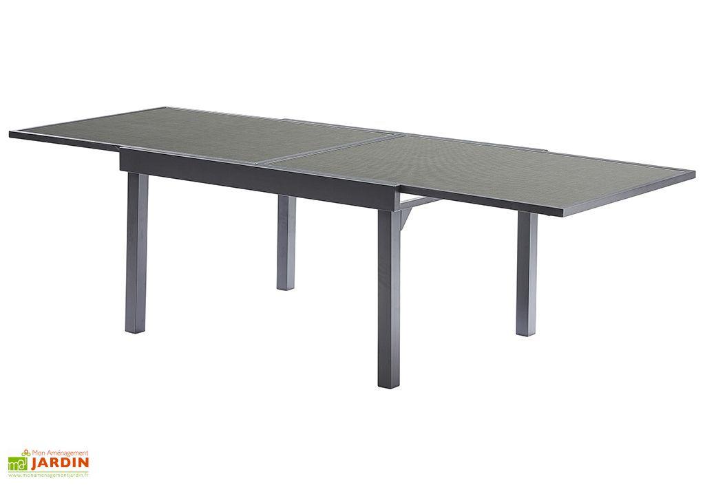 Salon de Jardin Modulotex: Table Extensible + 6 Fauteuils