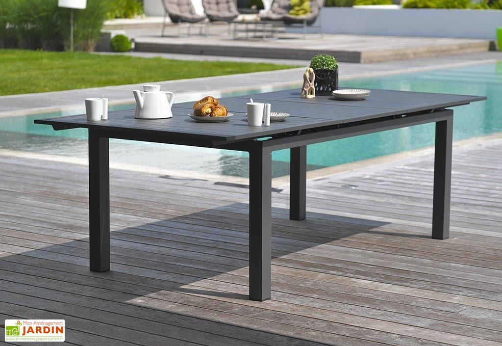 Table De Jardin Miami Avec Rallonge 240 300x110cm Dcb Garden