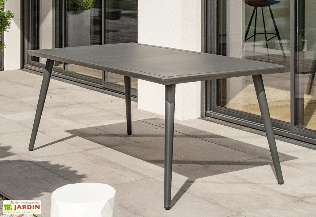 Table de Jardin en Aluminium Alumob Madelia 90 x 180 cm