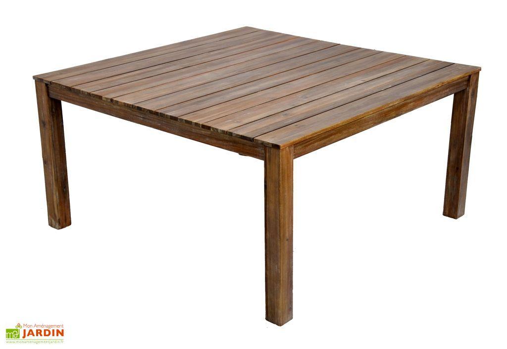 Table Jardin Acacia Cosmos (150x150x77)