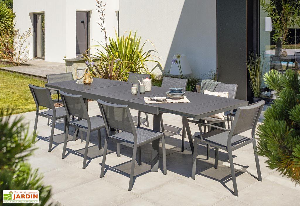 Table de Jardin Extensible en Aluminium DCB Garden Stockholm