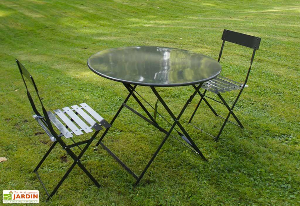 Table Pliante Métal Ronde Cytadine (Ø90)