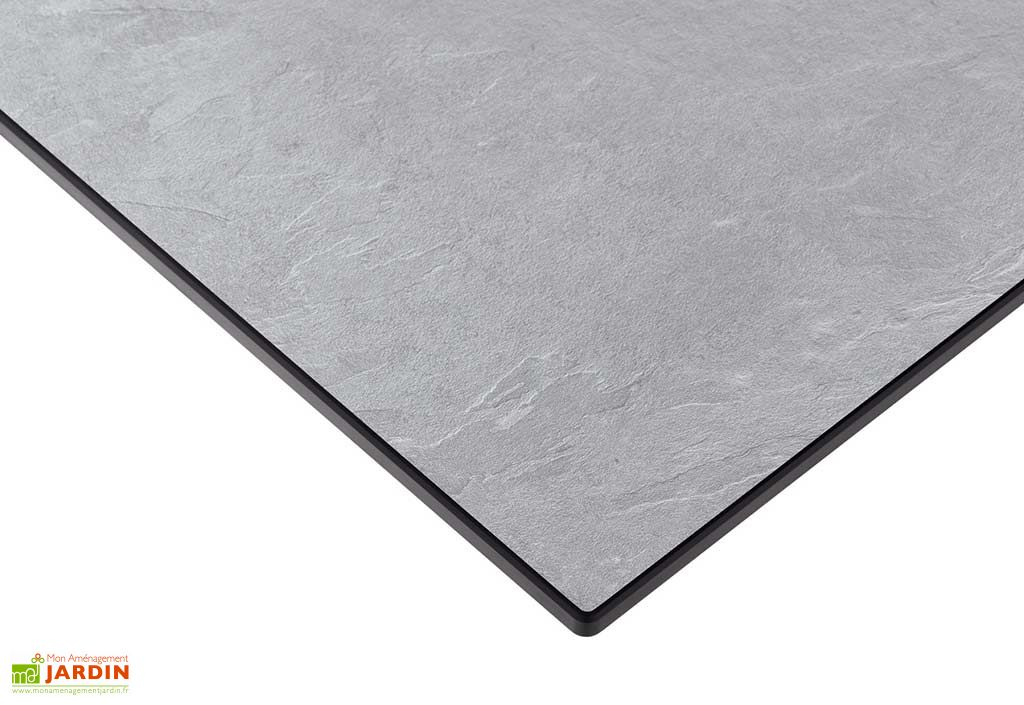 Table Extensible Puroplan Gris Clair (165/225/285x95cm)