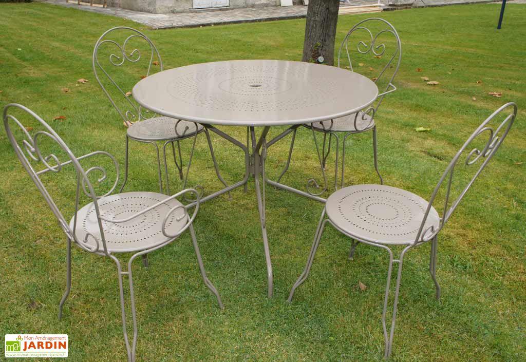 Table Métal Ronde Tradition (Ø100)