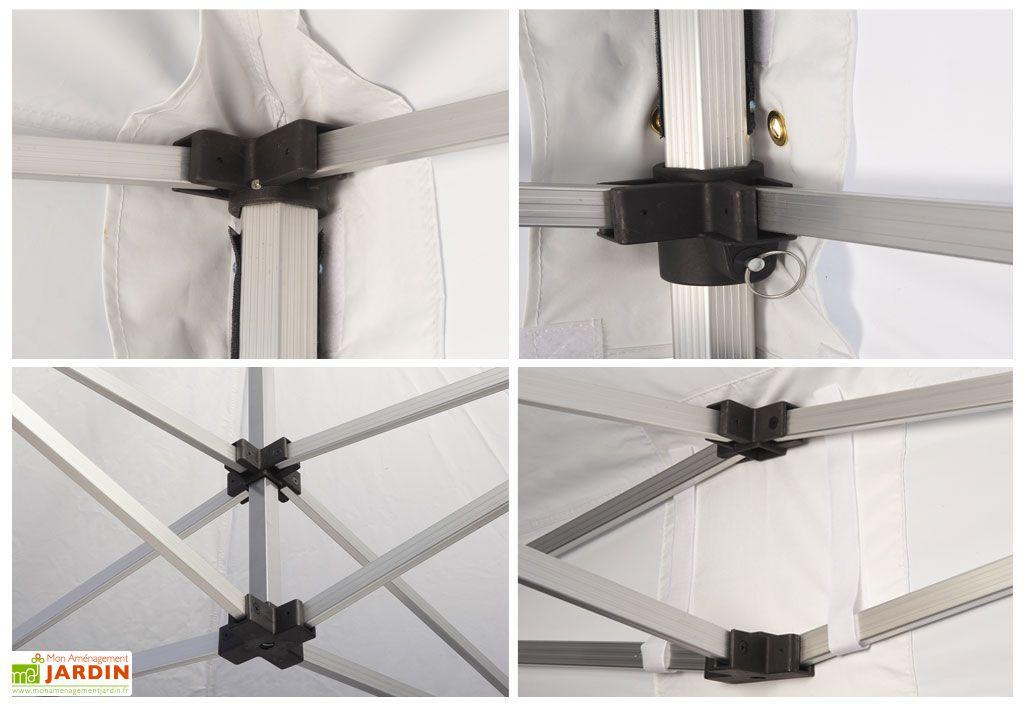 tente r ception pliante 3x6 alu 45mm toile 300gr m 4 murs furnitrade. Black Bedroom Furniture Sets. Home Design Ideas