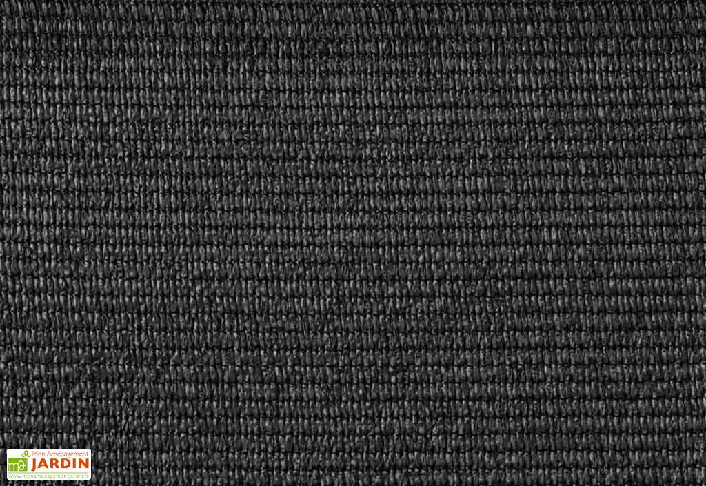 Brise-Vue Toile HDPE Gris Anthracite Rouleau 25 m (4 dimensions)