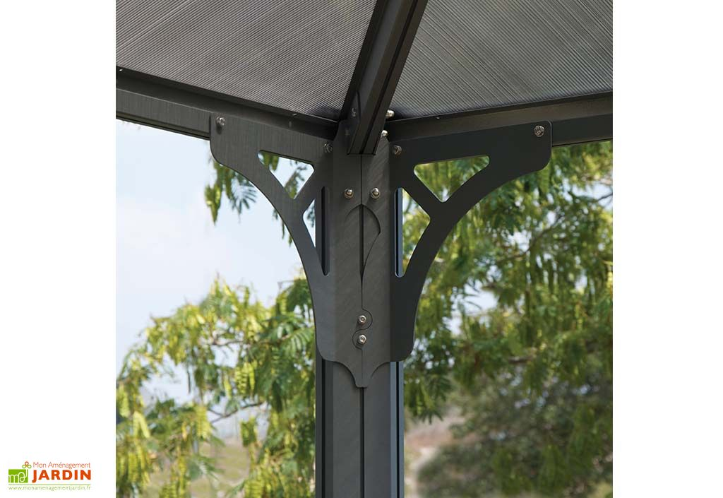tonnelle design en aluminium 300x300 palram. Black Bedroom Furniture Sets. Home Design Ideas